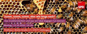 Thematische Mitgliederversammlung zum Insektensterben @ Haus Am Thie