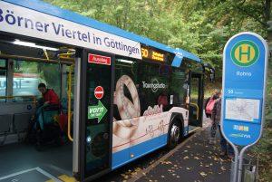 Unterschriftensammlung: Der Stadtbus muss bleiben! @ Eichendorffplatz